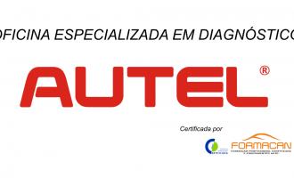 Oficina especializada em diagnósticos AUTEL